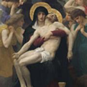 Pieta Print by William-Adolphe Bouguereau