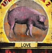 Pig Out Print by Joel Payne