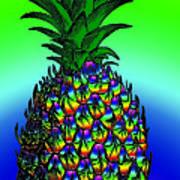 Pineapple Print by Eric Edelman