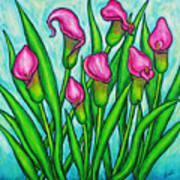 Pink Ladies Print by Lisa  Lorenz