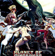 Planet Of Dinosaurs, 1-sheet Poster Print by Everett