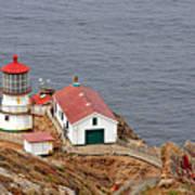 Point Reyes Lighthouse Ca Print by Christine Till