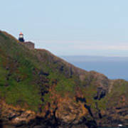 Point Sur Lighthouse Ca  Print by Christine Till