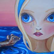Pool Of Tears Print by Jaz Higgins
