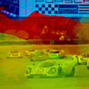 Porsche 917 Racing Print by Naxart Studio