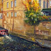 Prague Venice Chertovka 2 Print by Yuriy  Shevchuk