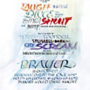 Prayer Print by Judy Dodds