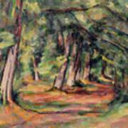 Pres Du Jas De Bouffan Print by Paul Cezanne