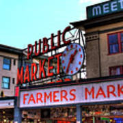 Public Market II Print by David Patterson