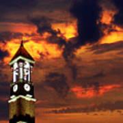 Purdue Bell Tower Print by Purdue University