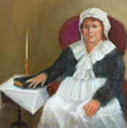 Quaker Lady Print by Marjorie Harris