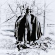 Quaker Pilgrim Print by Bill Cannon