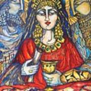 Queen Esther Print by Rae Chichilnitsky