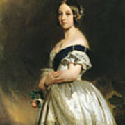 Queen Victoria Print by Franz Xaver Winterhalter