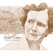Rachel Carson Print by John D Benson