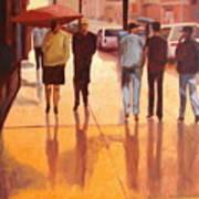 Rain In Manhattan Number Eighteen Print by Tate Hamilton