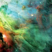 Rainbow Orion Nebula Print by The  Vault - Jennifer Rondinelli Reilly