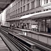 Randolph Street Station Chicago Print by Steve Gadomski