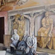 Reposo En El Vaticano Print by Tomas Castano