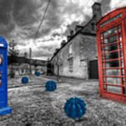 Revenge Of The Killer Phone Box  Print by Rob Hawkins