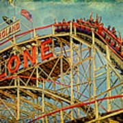 Riding The Cyclone Print by Chris Lord