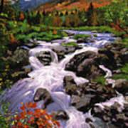 River Sounds Print by David Lloyd Glover