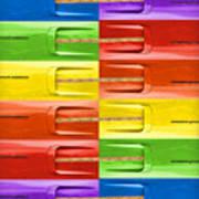 Road Runner Rainbow Print by Gordon Dean II