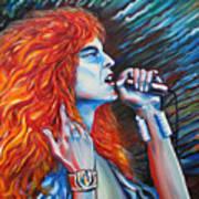 Robert Plant  Print by Yelena Rubin