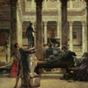 Roman Art Lover Print by Sir Lawrence Alma-Tadema