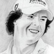 Rory Mcilroy Print by Pat Moore