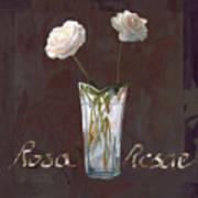 Rosa Rosae Print by Guido Borelli