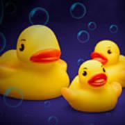 Rubber Duckies Print by Tom Mc Nemar