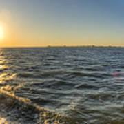 Sailing Sunset Print by Dustin K Ryan