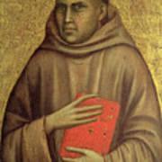 Saint Anthony Abbot Print by Giotto di Bondone