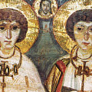 Saints Sergius And Bacchus Print by Granger