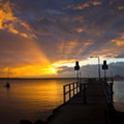 Salamander Bay Sunrise Print by Avalon Fine Art Photography