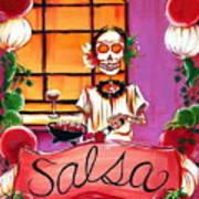 Salsa Print by Heather Calderon