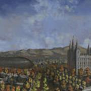 Salt Lake City Temple Square Nineteen Twelve  Print by Jeff Brimley