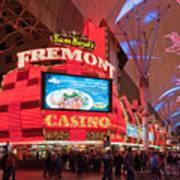 Sam Boyds Fremont Casino Print by Andy Smy