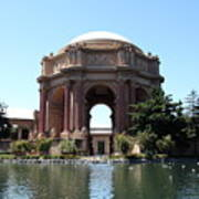 San Francisco Palace Of Fine Arts - 5d18107 Print by Wingsdomain Art and Photography