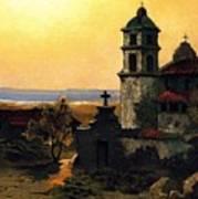 Santa Barbara Mission Print by Pg Reproductions