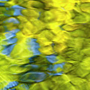Sea Breeze Mosaic Abstract Art Print by Christina Rollo