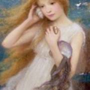 Sea Nymph Print by William Robert Symonds