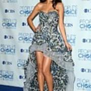 Selena Gomez Wearing An Irina Shabayeva Print by Everett