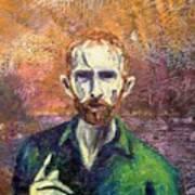 Self Portrait Print by John  Nolan
