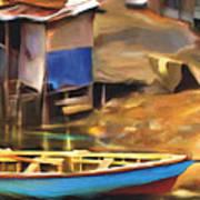 Shada District Print by Bob Salo