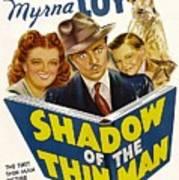 Shadow Of The Thin Man, Myrna Loy Print by Everett