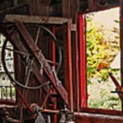 Shakers Woodshop Print by Steve Ohlsen