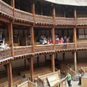Shakespeare's Globe Theater C378 Print by Charles  Ridgway