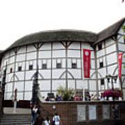 Shakespeare's Globe Theater Print by Charles  Ridgway